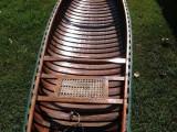 1950's Cedar strip canvas Canoe mint condition!