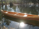 16' Custom Cedar Strip Canoe
