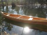 16' Custom Cedar Strip Canoe