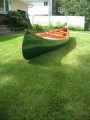 17ft W/C E.M White canoe by Stewart River Boatworks - [click here to zoom]