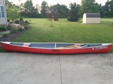 Custom Built 17 ft Mohawk Tandem Canoe