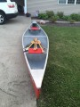 Custom Built 17 ft Mohawk Tandem Canoe - [click here to zoom]