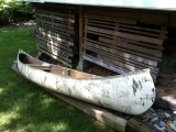 Vintage Indian Brand (Sagamo) Canoe