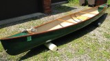Black Hawk Shadow 15.8 SS Kevlar Composite Canoe - [click here to zoom]