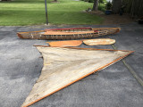 Rare Chicago-Mead Glider 1940s Ready for restoring - [click here to zoom]