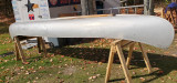 17ft Grumman aluminum canoe - [click here to zoom]