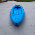 10' Pelican Boost100 Blue Kayak - [click here to zoom]