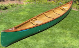 Old Town Canadienne kevlar canoe - [click here to zoom]