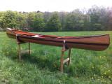 Solo White Cedar Canoe single blade