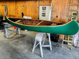 1912 Old Town H.W. Model Wood & Canvas Canoe With Build Sheet Excellent Condition