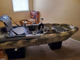 Big Fish 103 Pedal Fishing Kayak - [click here to zoom]