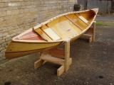 Fabulous Wood Strip Canoe wooden canoe