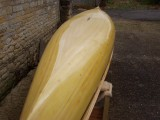 Fabulous Wood Strip Canoe wooden canoe - [click here to zoom]
