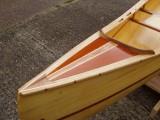 Fabulous Wood Strip Canoe wooden canoe - [click here to zoom]