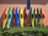 New Lot of 10 Brudden Flecha Kayaks - [click here to zoom]