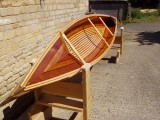 Beautiful Wood strip Canoe (Sunnyside Cruiser)