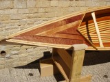 Beautiful Wood strip Canoe (Sunnyside Cruiser) - [click here to zoom]