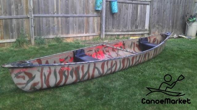 Camo Canoe